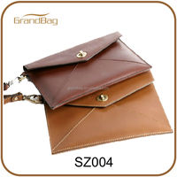 new ladies leather envelope clutch bag for Ipad mini