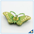 Animal Shape Butterfly Trinket Box Metal Jewelry Box Car Decoration SCJ591