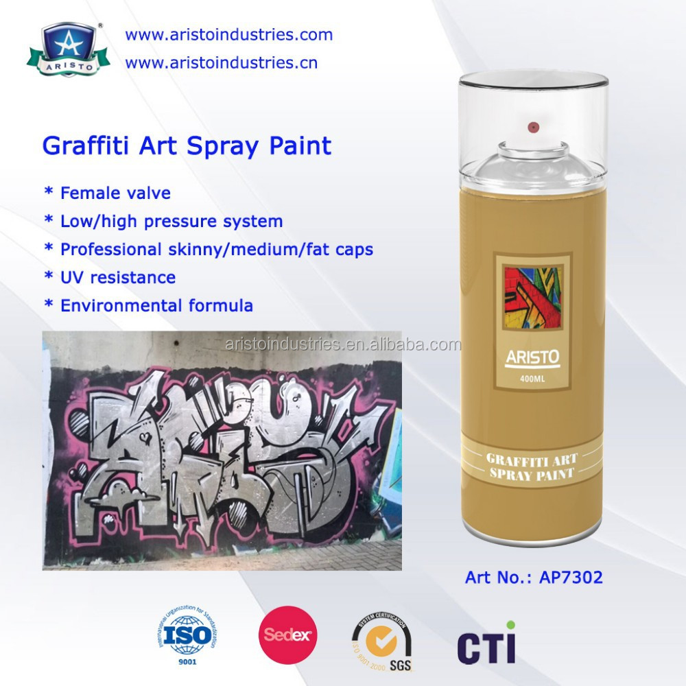 Multi-purpose Graffiti Art Spray Paint