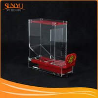 OEM Non-Toxic Acrylic Food Candy Display Stand