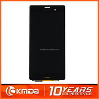 Low price mobile phone accessories lcd factory in china for Sony xperia for sony xperia z3 dual d6633