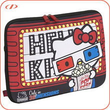 Cute hello kitty laptop sleeve bag