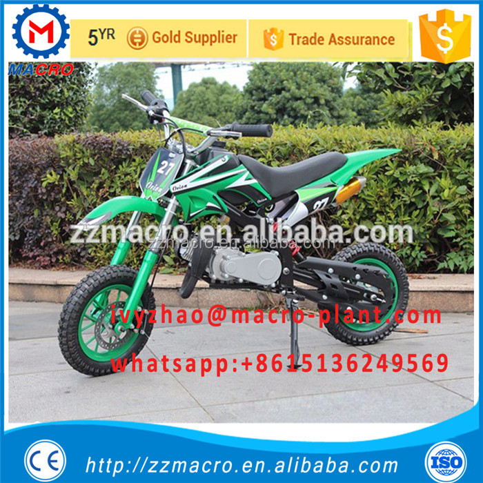 safe and good quality Chinese motorcycle dirt bike 50cc 4 stroke
