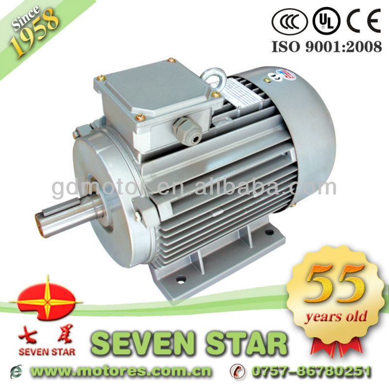 Three phase waterproof submersible electric motors