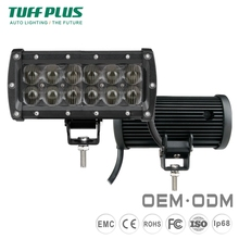 Factory wholesale high lumens 7 Inch 36W dual rows offroad led light bars