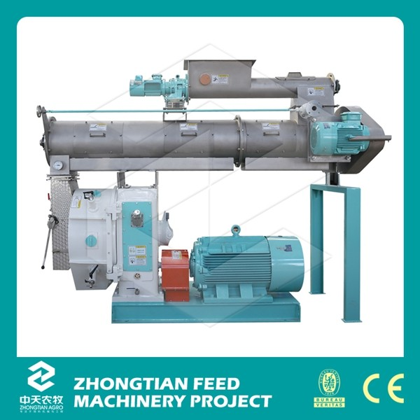 Hot sale tilaia fish feed machine / floating shrimp feed mill
