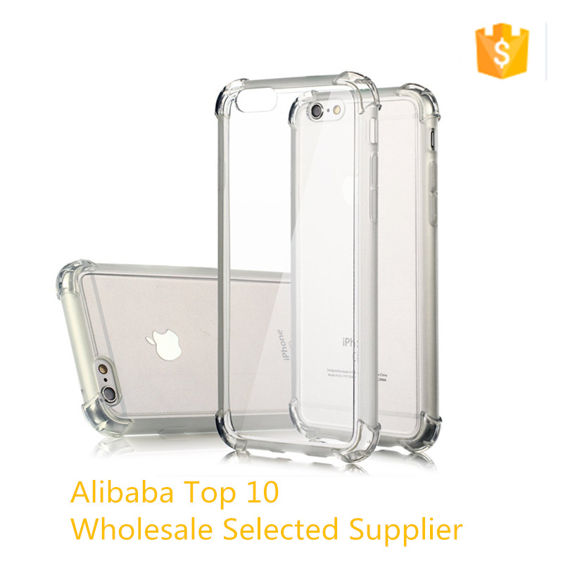 For iPhone 7 case TPU Soft Shockproof Clear Cell phone case for Iphone 7