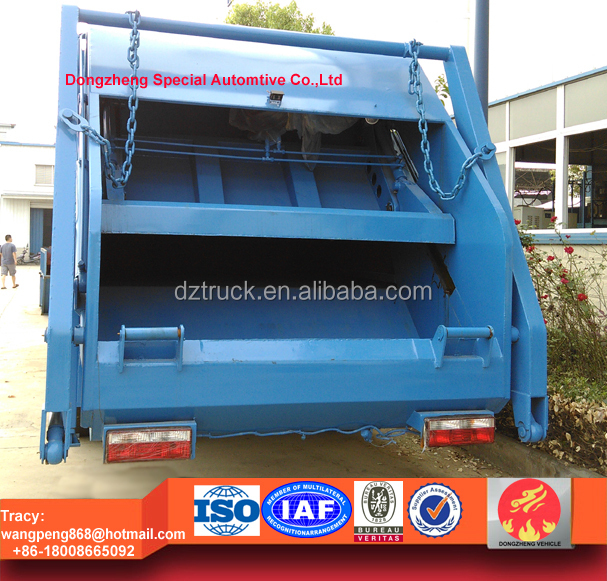 Dongfeng 153 refuse compactor truck,12-14CBM compression garbage truck, 12tons dustcart for sale