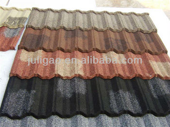 Stone Coated Metal Roofing materials