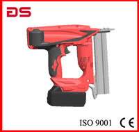 GS 18ga Electricity nail gun Cordless battery nailer stapler Li-ion battery Nailer