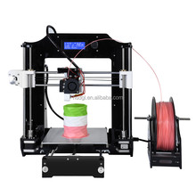 High quality 3d printer machine FDM object 3d printer machine with new aluminum hotbed prusa i3 3d printer kits for home use