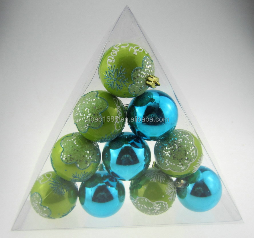 Wholesale shatterproof christmas ball ornaments for