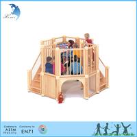 2017 used children wooden outdoor indoor toys equipment playground for kids
