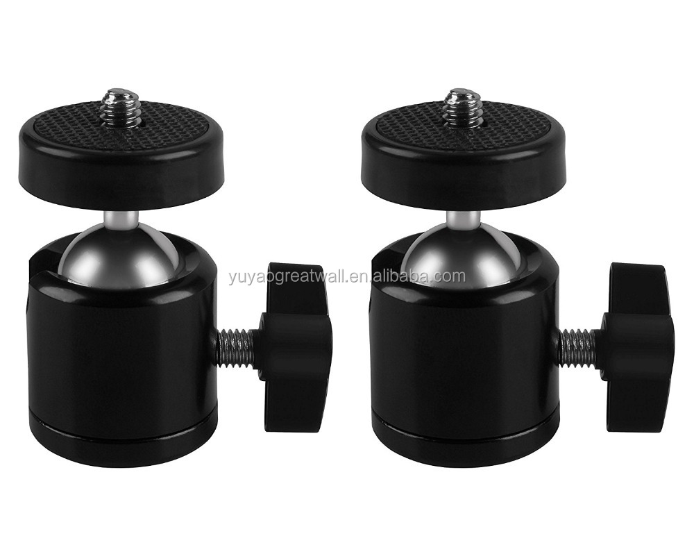 "Digital SLR Video Camera Clip With Ball Head Camera Mount 1/4"" Ball Head Screw"