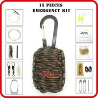 wholesale emergency disaster military survival kit