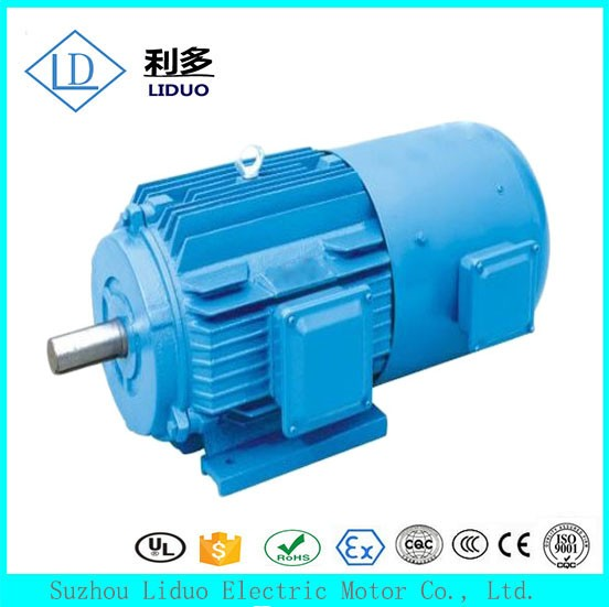 YVF2 series speed adjustable electric car motor 75kw,75hp electric motor
