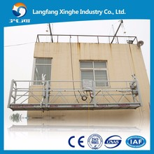 1.5 / 2.0Kw suspended rope platform / electric cradle / window cleaning lift from China