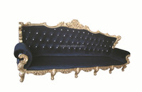 latest velvet hotel /restaurant club sofa furniture/ luxury bar long sofa