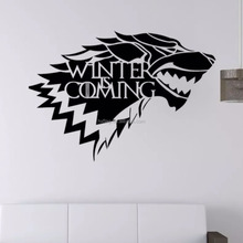 Custom Game of Thrones Wall Sticker for Removable Home Decoration Art Mural