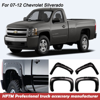electric car injection mold pickup 4x4 PP material fender Flares for Silverado 07-12