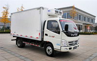 Good quality meat transport small refrigerated truck body for sale