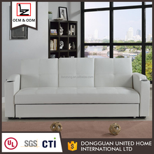 New design multi-function fabric sofa bed with storage
