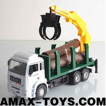 dc-106295351 Die cast crane 1:32 Emulational Die Cast Crane Model