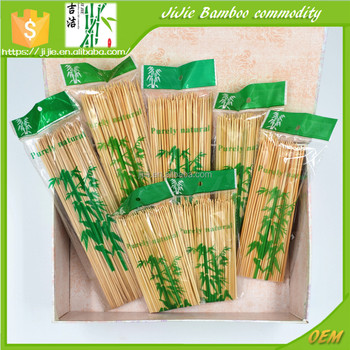 Unique bbq long sticks bamboo skewer