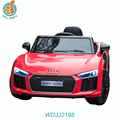WDJJ2198 2018 New Popular Cheap Kids Electric Car Audi R8 Models Baby Ride On Toy Bike Wheels