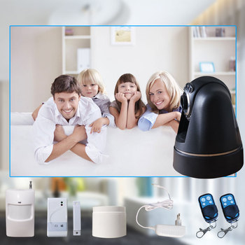 Auto Usage 3G wireless alarm system Mini CMOS Camera Style home alarm system security camera system