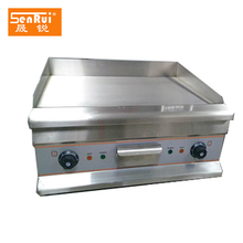 Stainless steel BBQ electric griddle