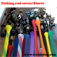 Muiticolor convenient and practical fishing rod cover