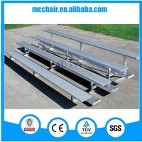 MC-4F portable stadium aluminum grandstand seating for school,stadium,arena,entertainment,sports,church use