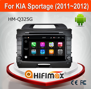 Hifimax Radio For KIA Sportage 2011 2012 Andriod 7.1 Car Multimedia Player DVD GPS Navigation System With Canbus 2G RAM