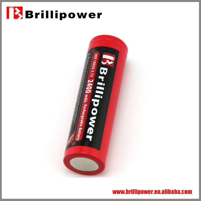 Brillipower lithium thionyl chloride rechargeable battery/18650 lithium ion battery/18650 recahrgeable battery