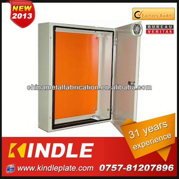 Kindle customized electric cabinet Mild steel single door enclosure