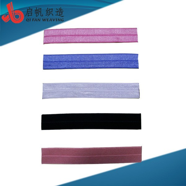 Factory Customizes New Arriaval Eco-friendly Okeo-Tex Competitive Price fold over elastic wholesale
