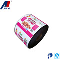 high quality cake packaging cup sealing roll film