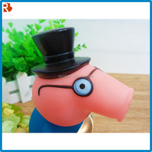 Quality primacy plastic model factory direct vinyl pig toy