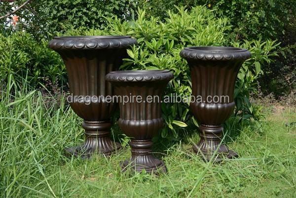 fiberglas ton beton garten topf urne outdoor und indoor. Black Bedroom Furniture Sets. Home Design Ideas