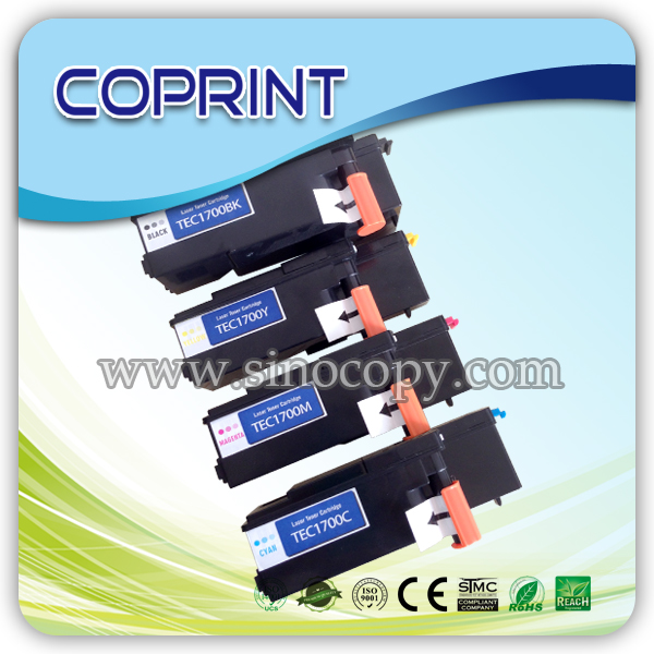 Compatible Color Toner S050613/12/<strong>11</strong> For C1700/C1750W/<strong>N</strong>/CX17NF