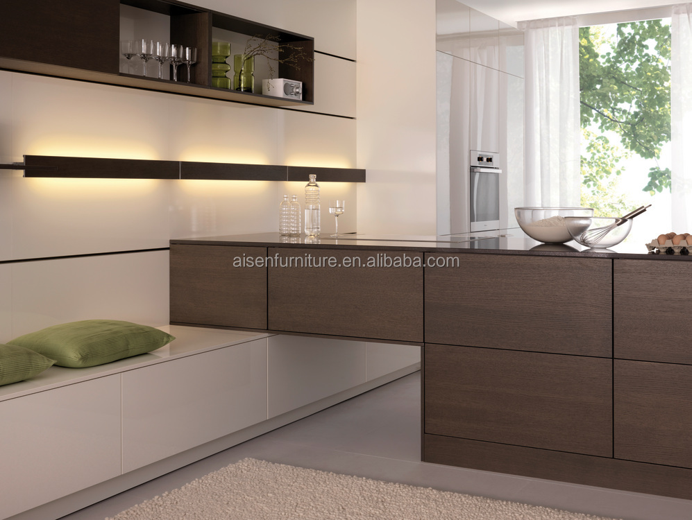 Hot design mixed style kitchen cabinets for Hotel cabinet from factory suppier