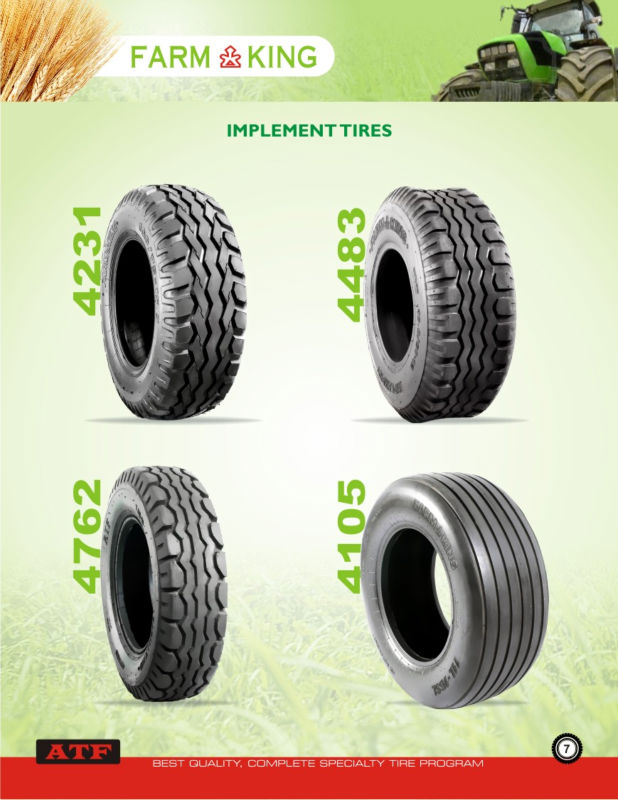Farm Implement & Trailor Tyres