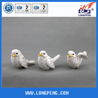 Factory direct new resin bird figure ornaments crafts,christmas tree ornaments