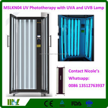 Medical equipment Narrow UVB 311 nm phototherapy for vitiligo, psoriasis/UV phototherapy with UVA and UVB lamp MSLKN04