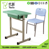 Wholesales comforable plastic primary baby student desk preschool furniture