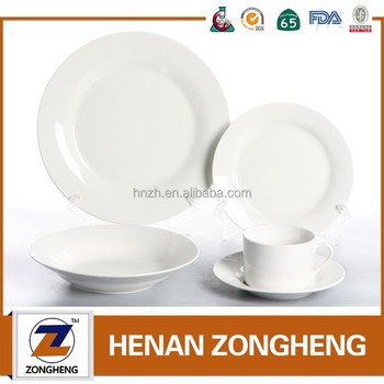 Stock cheap used restaurant portuguese porcelain dinnerware sets