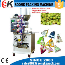 SK-120S triangle bag packing machine for beans