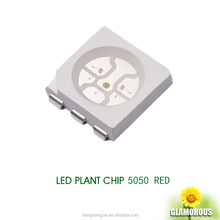 Sanan led plant grow light 0.2w smd red led5050 0.2W 60mA