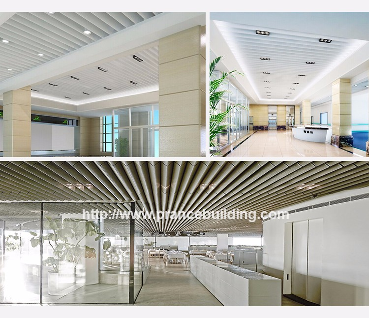 Soundproof Decorative Suspended Screen Ceiling